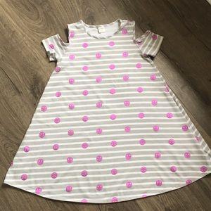New Gymboree cold shoulder dress